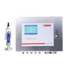 Generator hydrogen online monitoring leak system